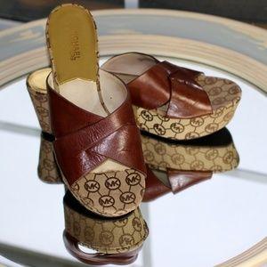 508ec9796da4 MICHAEL Michael Kors Shoes - MICHAEL Michael Kors Crossover Platform Sandal